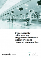 Cybersecurity collaboration program for industrial laboratories and research communities