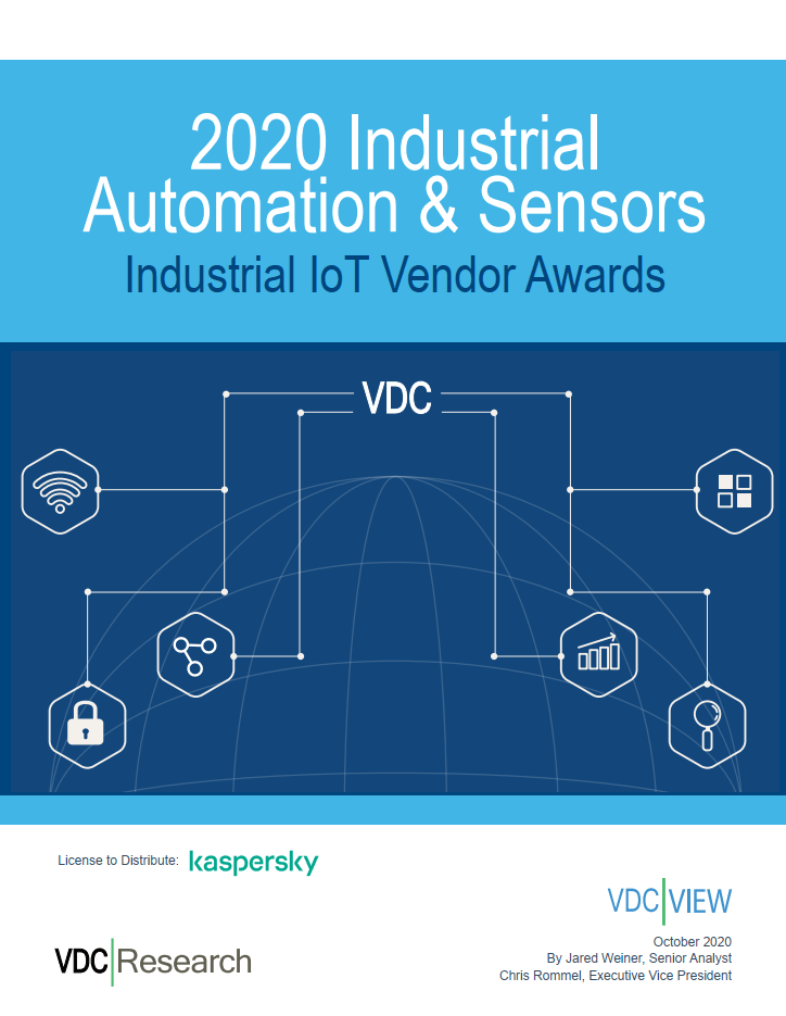 VDC Industrial IoT Vendor Awards 2020
